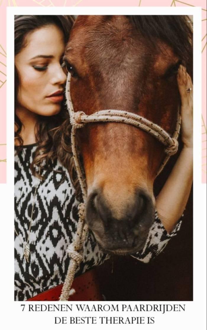 story 1555520609128 - 7 Redenen waarom paardrijden de beste therapie is
