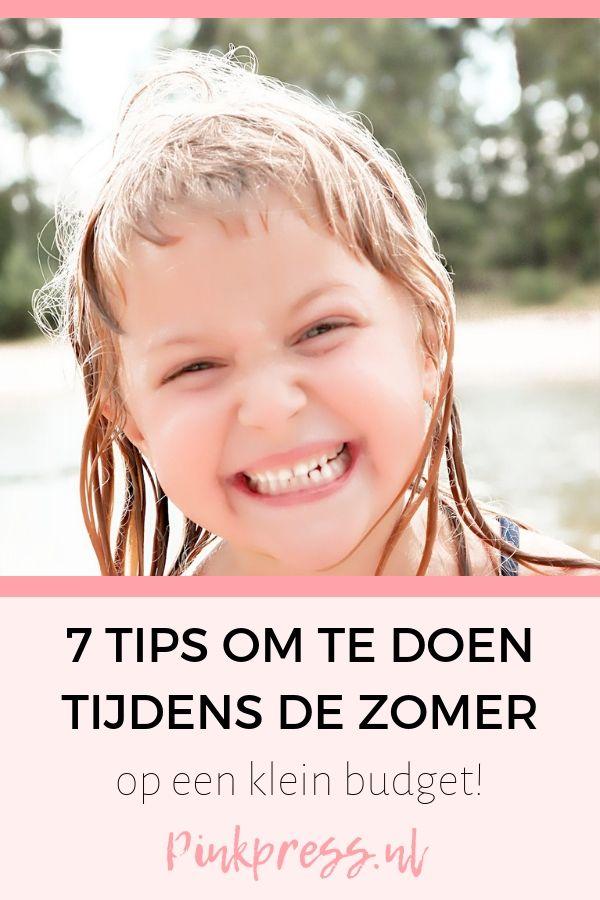 7 tips om te doen tijdens de zomer - 7 tips om te doen tijdens de zomervakantie!