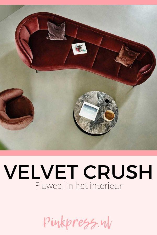 velvet crush - Velvet Crush | Tijd voor fluweel terug in het interieur!