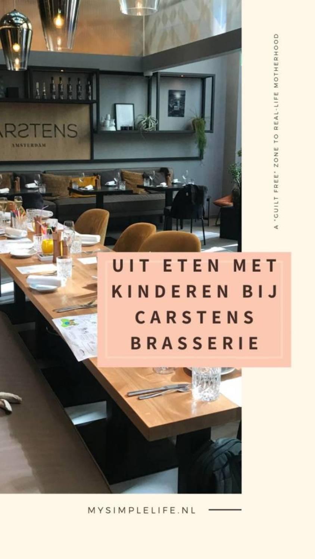 Aan Tafel bij Carstens Brasserie Met kinderen - Aan Tafel bij Carstens Brasserie | Met kinderen!