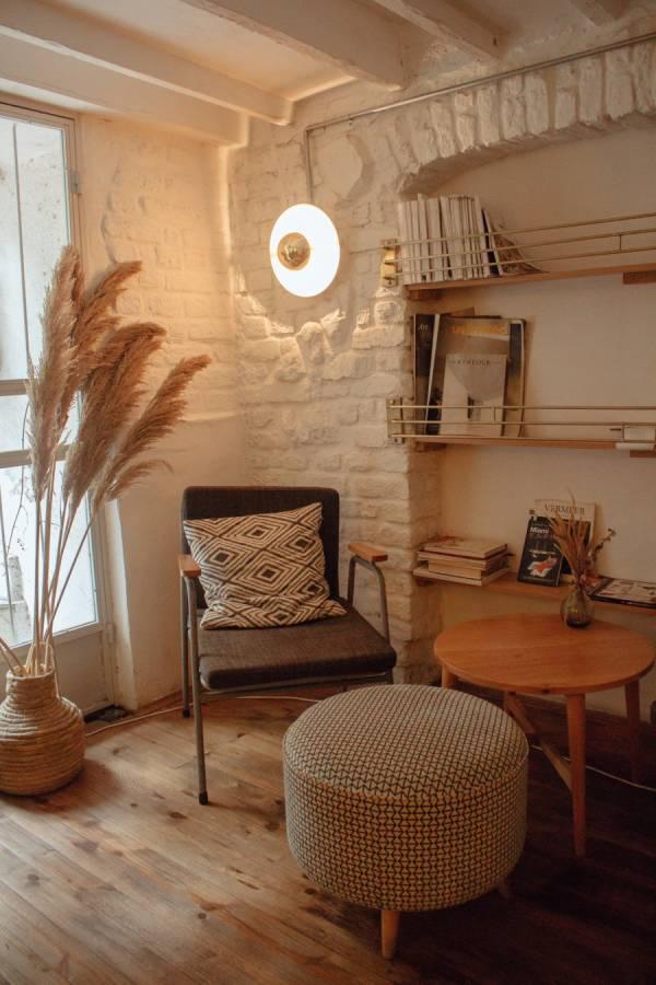 apartment books chair 2079249 - Een klein huis groots inrichten