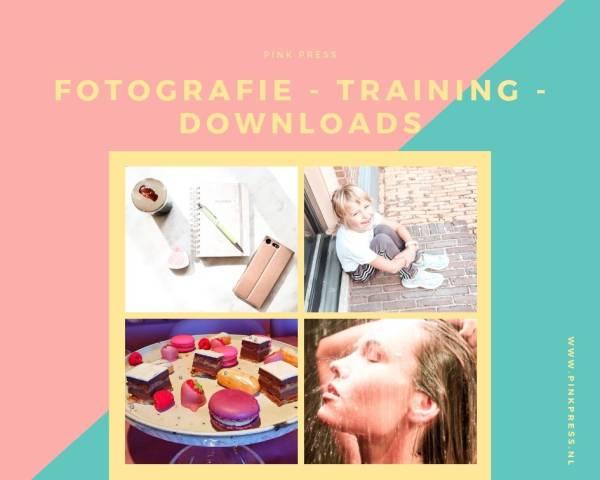 fotografie pink press - Fotografie - Trainingen - Downloads