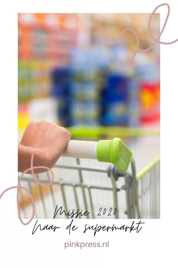 column naar de supermarkt met paniekaanval