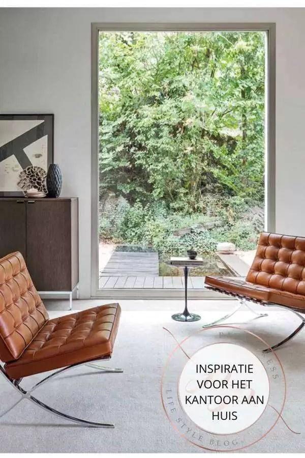 Interieur inspiratie voor een kantoor aan huis