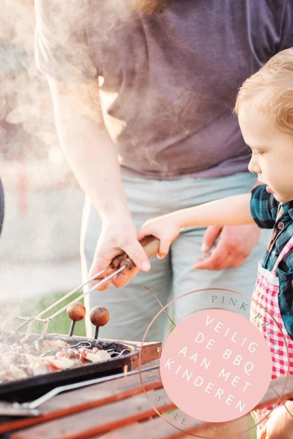 Veilig aan de BBQ met kleine kinderen