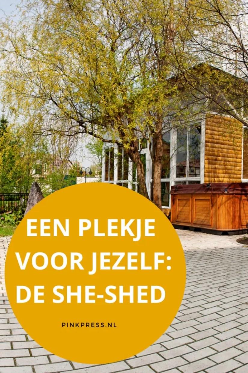 een plekje voor jezelf: de she shed