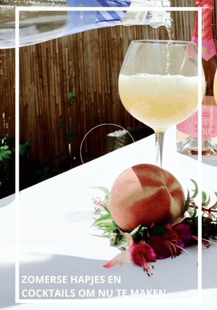 Tropische hapjes en drankjes