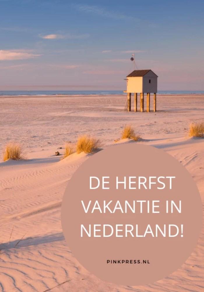 De herfstvakantie in Nederland