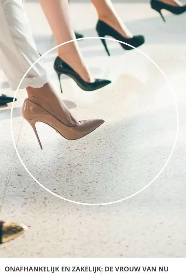 Onafhankelijk en zakelijk - de vrouw van nu