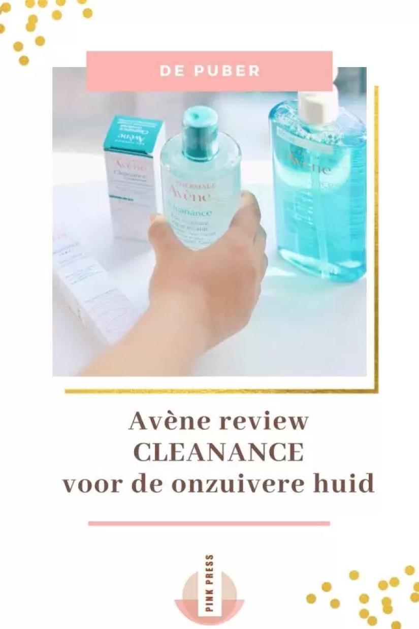 Avene Cleanance Review - tegen jeugdpuistjes