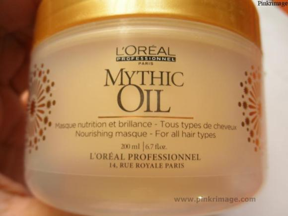 L'Oreal Professional Mythic oil Hair mask- Review