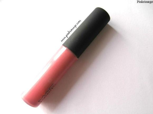 MAC Ample Pink Plushglass- Review & Swatches
