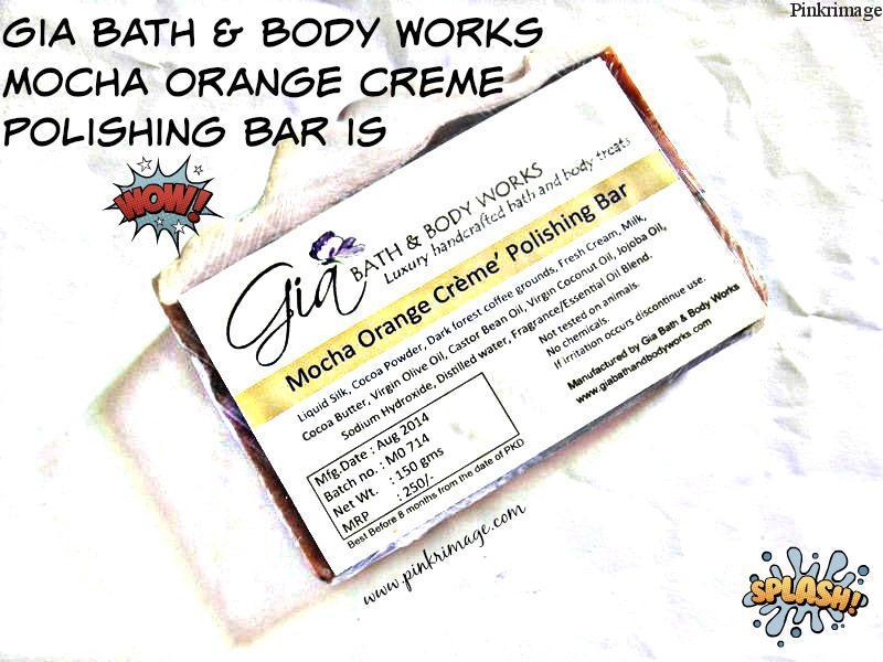 Gia Bath & Body Works Mocha Orange Creme Polishing Bar-Review