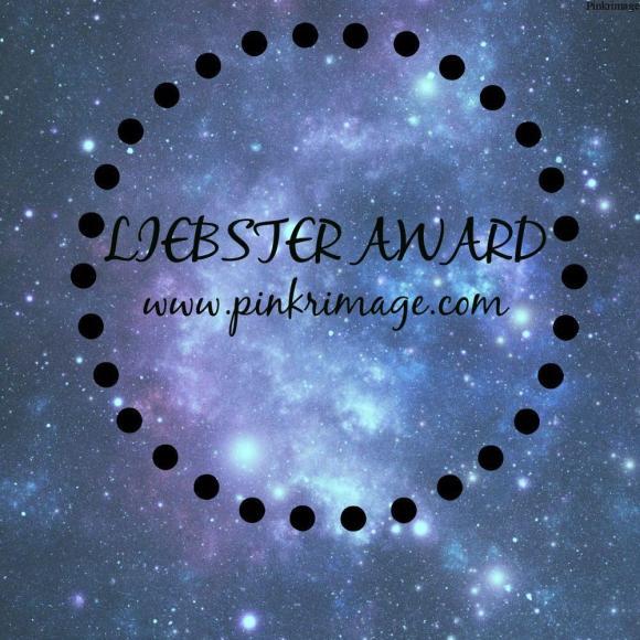 LIEBSTER AWARD-PINKRIMAGE