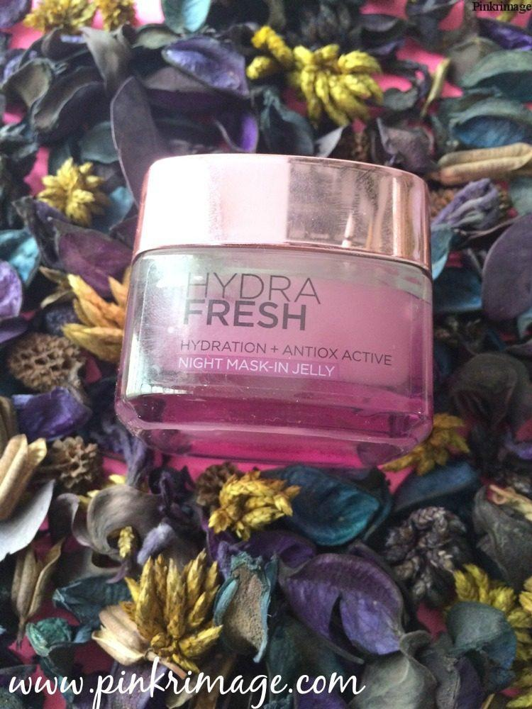 L'Oreal Paris Hydrafresh Night Mask-In Jelly