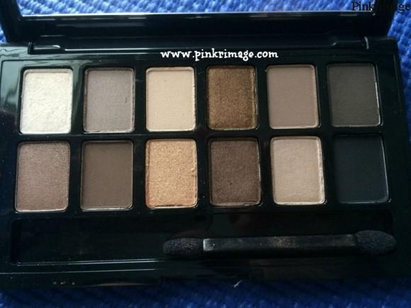 maybelline nudes eyeshadow pallette shades