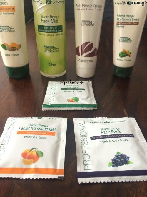herbsandmore skincare range review (2)