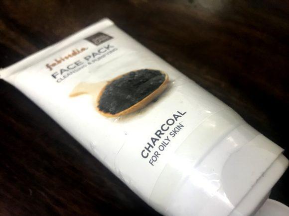 fabindia charcoal face mask