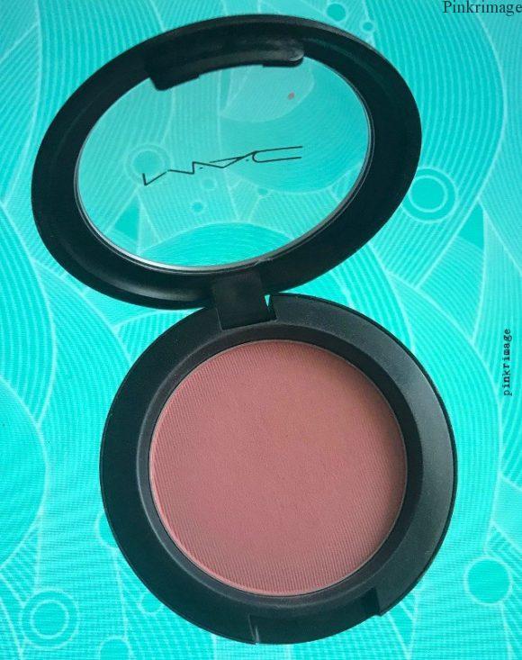MAC Fleur Power blush review India