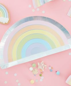 Pastel Paper Party Glasses By Ginger Ray Pinks Amp Green