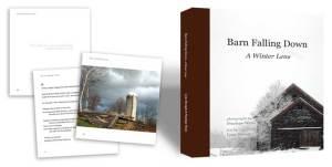 Barn Falling Down, a Winter Lens