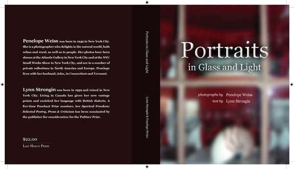 Portraits in Glass and Light, text by Lynn Strongin and photography by Penelope Weiss
