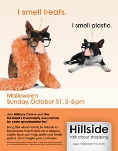 Hillside Mall Malloween Web Ad