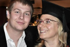 Becky and Ben at Becky's Grad 2010