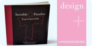 Typography and cover design for Invisible Paradise