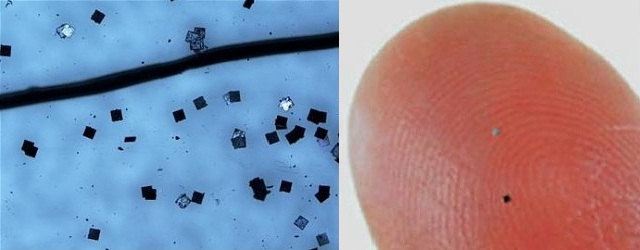 Hitachi develops super-tiny RFID chips ---
