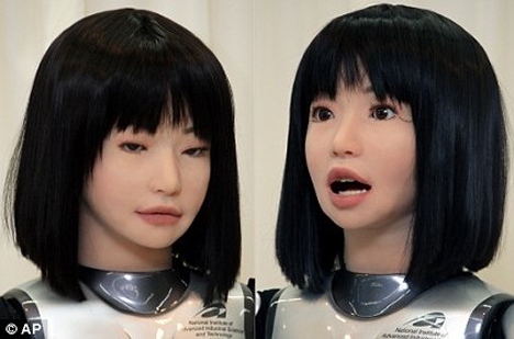 HRP-4C fashion model robot --