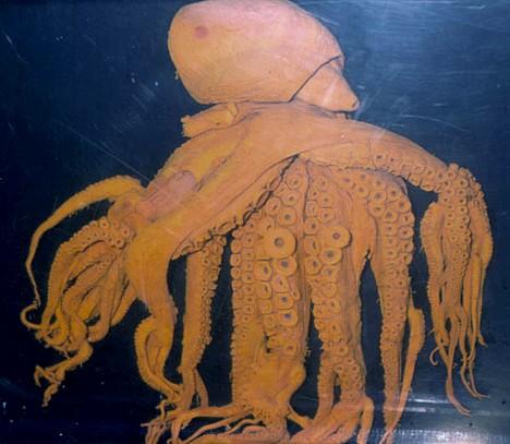 El pulpod de 85 tentáculos del Acuario de Toba
