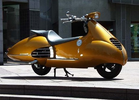 Japanese custom scooter --