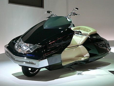 Japanese custom scooter --
