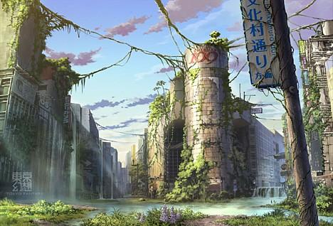 Tokyo Destroyed, in Art   上り口説 Nubui Kuduchi