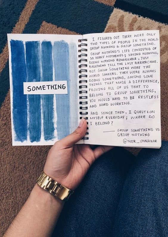 dear diary, I want to do something