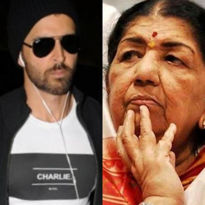 Hrithik Roshan expresses gratitude towards Lata Mangeshkar as the veteran singer praises his work