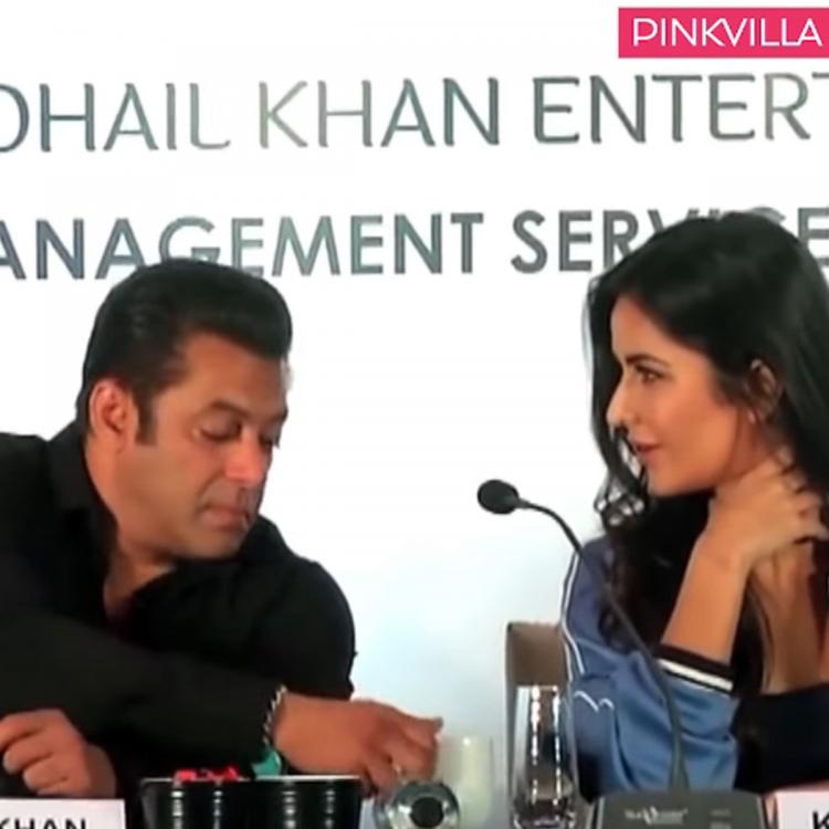Throwback: When Salman Khan and Katrina Kaif were spotted drinking coffee from same cup at an event; WATCH