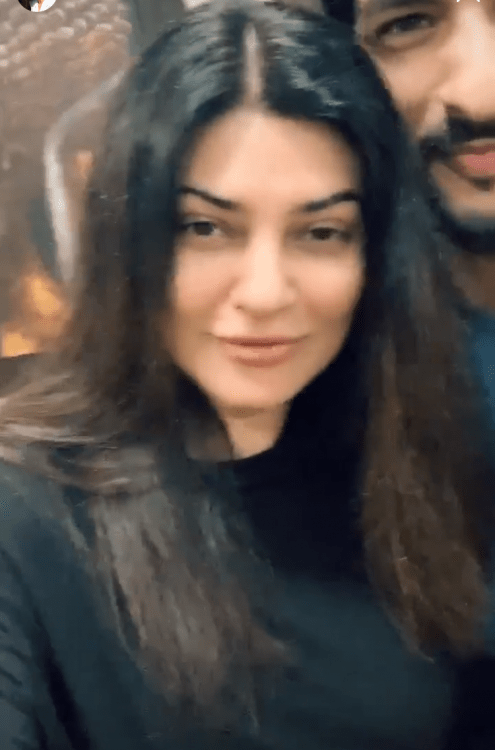 Sushmita Sen REVEALS beau Rohman Shawl has turned into an in house plumber as she sends love to fans; Watch