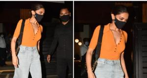 Deepika Padukone makes baggy denims look chic while stepping out for dinner in town;  Yay no Nay?
