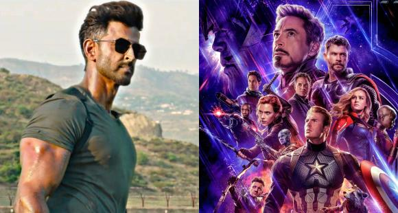 Image result for War Box Office Collection: Hrithik Roshan, Tiger Shroff starrer BEATS Avengers: Endgame with a stunning margin