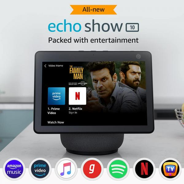 Amazon Echo Show 10 & Echo Show 5 specifications and features