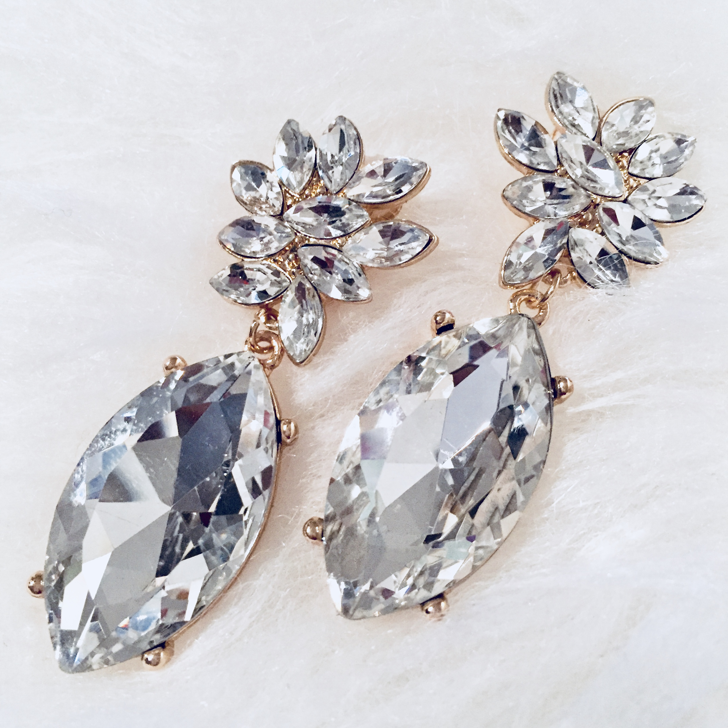 diamond drop cluster rose jewelry earrings antique cut listings