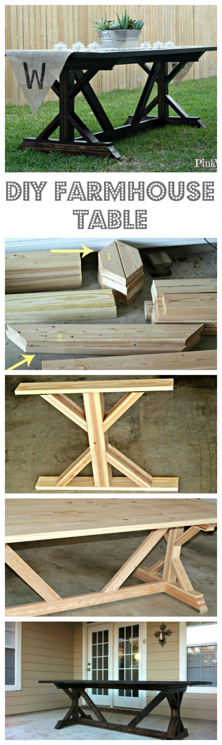 Building Farmhouse Table