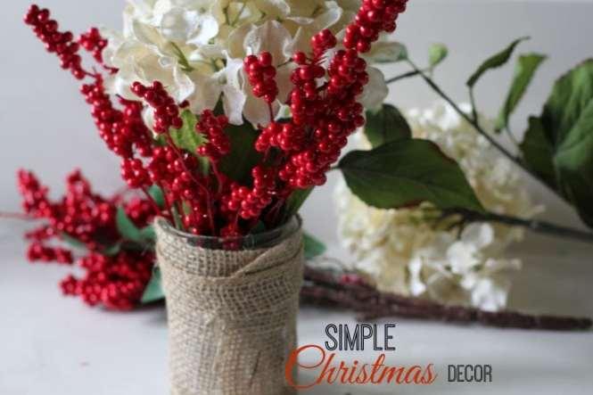 Elegant U0026 Simple Holiday Decor My Crafty Spot When Life Gets