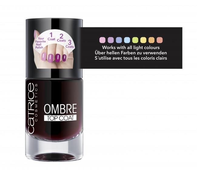 Catrice Ombre Top Coat 01 Colour of Change