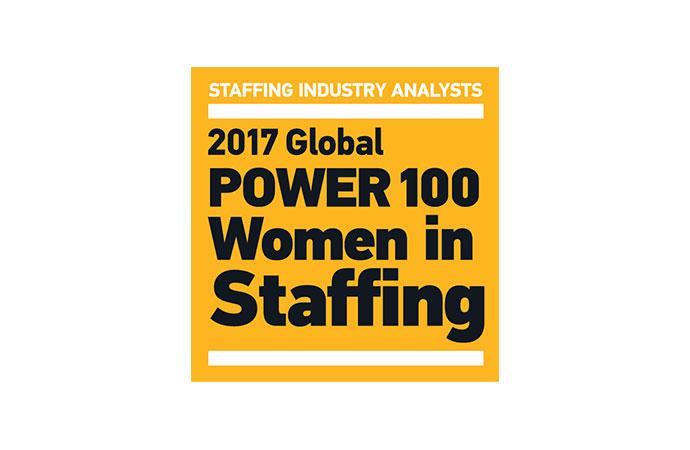 Global Power 100 - Women in Staffing List