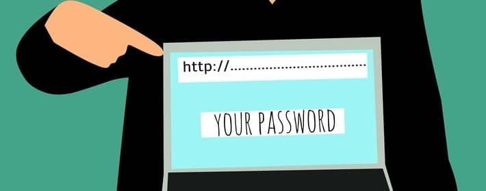 Hacker requesting password