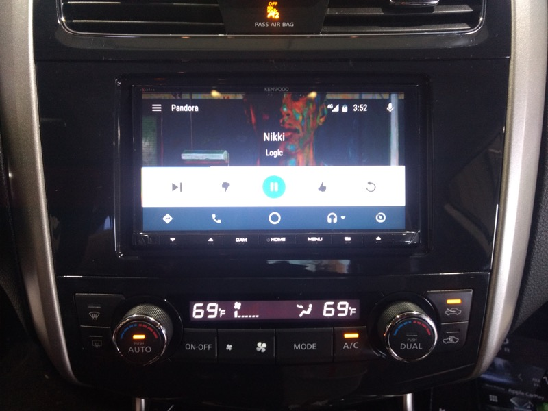 Nissan Altima Android Auto