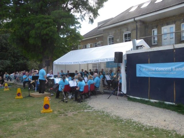 .. The Harrow concert Band